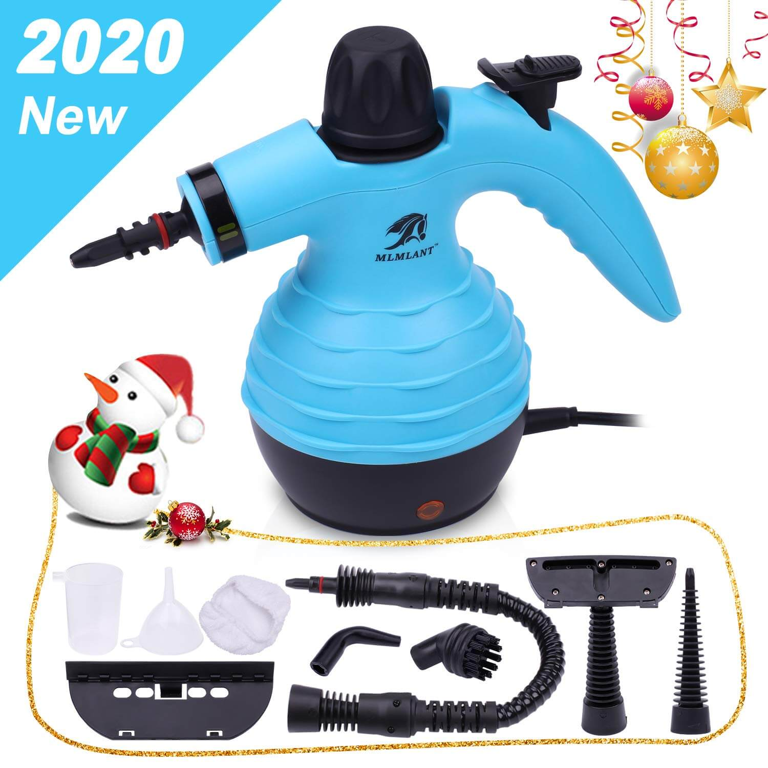 MLMLANT Pressurized Handheld Steam Cleaner