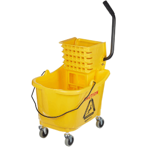 AmazonBasics Mop Bucket & Side Press Wringer Combo