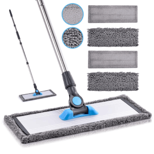 vinyl floor care mop