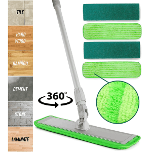 Turbo Microfiber Mop Floor Cleaner