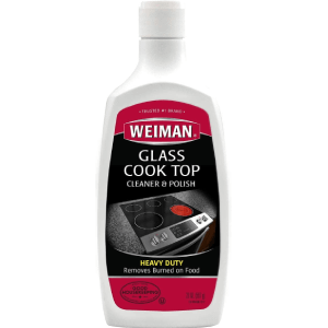 Weiman Glass Cooktop Heavy Duty Cleaner and Polish