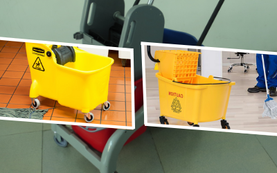 Different Types of Mopping Buckets and Wringers