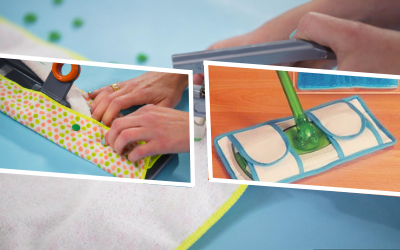 How to Make Reusable Mop Pads without a Microfiber Cloth