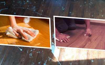 Tough Stains From The Laminate Floors